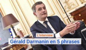 L'interview de Gérald Darmanin en 5 phrases
