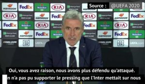 "Demi-finale - Castro : ""On n'a pas pu supporter le pressing de l'Inter"""