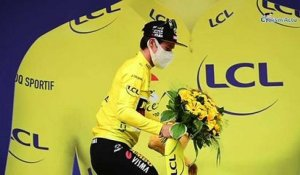"Tour de France 2020 - Primoz Roglic : ""It was a nervous and stressful stage"""