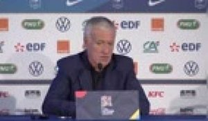 "Bleus - Deschamps : ""Le 3-5-2 ? On aura le temps..."""