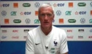 "France - Deschamps : ""Camavinga aura du temps de jeu"""