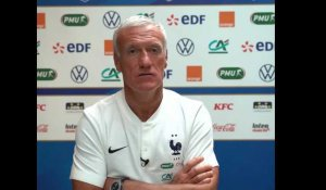 "France - Deschamps : ""Je n'ai jamais exigé d'excuses de Rabiot"""