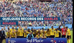 Quelques records des Diables rouges