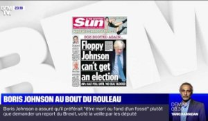 Boris Johnson au bout du rouleau