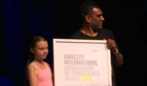 "Greta Thunberg ""ambassadrice de conscience"" d'Amnesty International"