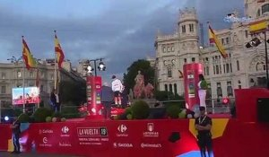 "Tour d'Espagne 2019 - Tadej Pogacar 3rd and on the podium of La Vuelta: ""It's crazy"""