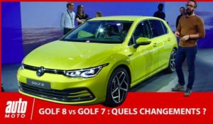 Nouvelle Volkswagen Golf 8 vs Golf 7 : quels changements ?