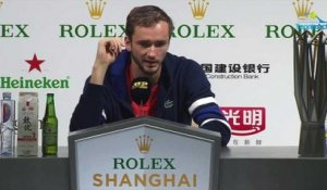 "ATP - Shanghai 2019 - Daniil Medvedev : ""I just became a better player... !"""