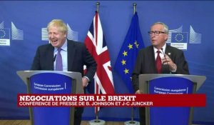 REPLAY - BREXIT : Boris Johnson et Jean-Claude Juncker s'expriment après l'accord conclu