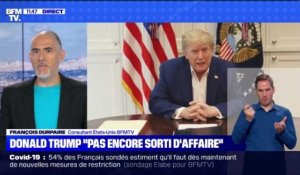 "Donald Trump ""pas encore sorti d'affaire"" - 04/10"