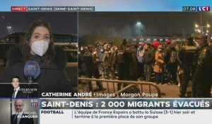 Saint-Denis : 2000 migrants évacués