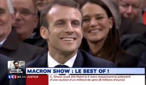 Grand débat : le best of du show de Macron