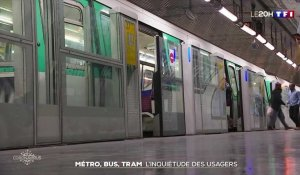 Transports en commun : des passagers inquiets