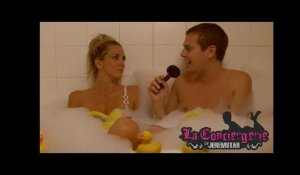 Christie (Les Anges 6) dans le bain de Jeremstar - INTERVIEW