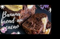 Banana bread au cacao vegan