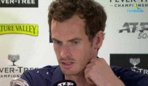 "ATP - Queen's 2019 -  Andy Murray :  ""No pain and surprised by how I felt at Queen's"""