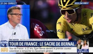 Le Colombien Egan Bernal gagne le Tour de France