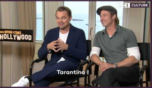 """Once Upon A Time In Hollywood"" : l'interview de DiCaprio, Pitt, Robbie et Tarantino"