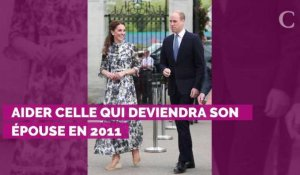 La délicate attention du prince William au début de se relatio...