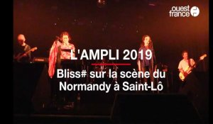Saint-Lô. l'ampli 2019 Bliss# sur la scène du Normandy