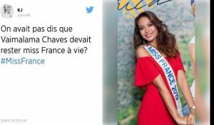 Miss France 2020 : les internautes veulent que Vaimalama Chaves reste Miss France !