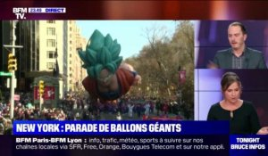 New York: parade de ballons géants - 28/11