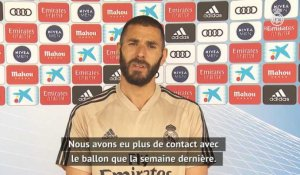 "Real Madrid - Benzema : ""Le message de Zizou : profiter"""