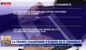 La France championne d'Europe du e-commerce