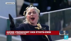 REPLAY - Investiture de Joe Biden : LADY GAGA chante l'hymne national américain