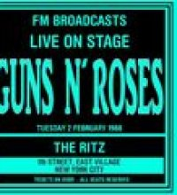 Live On Stage FM Broadcasts - The Ritz NYC 2nd February 1988