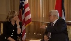 Reprise du dialogue: Hillary Clinton accueille Mahmoud Abbas