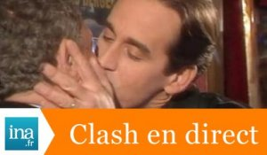 Le clash Thierry Ardisson Jacques Martin - Archive INA