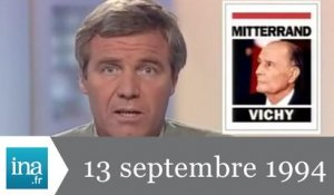 20h France 2 du 13 septembre 1994 - Archive INA
