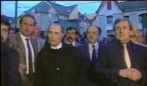 Mitterrand à Bourges