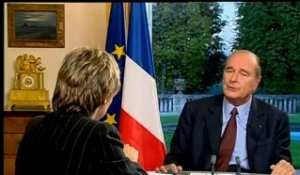 Interview Jacques Chirac 21 septembre 2000 - Archive vidéo INA