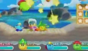 Kirby's Adventure Wii : Multiplayer mode trailer
