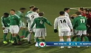 Red star FC 2 - 1 FC Martigues 11/02/2012