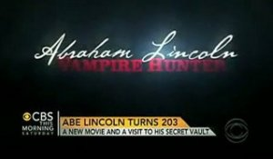 Abraham Lincoln: Vampire Hunter - Spot TV CBS Spotlight [VO|HQ]