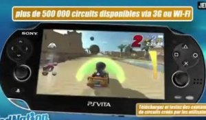 ModNation Racers PS Vita : Launch Trailer