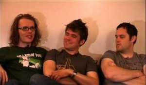 Scouting For Girls 2008 interview - Greg, Roy and Peter (part 1)