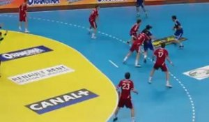 Bertrand Gille prend ses marques au Phare - France vs Suisse - 5/04/2012