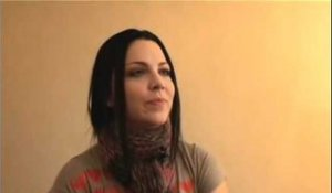 Evanescence interview - Amy Lee (part 1)