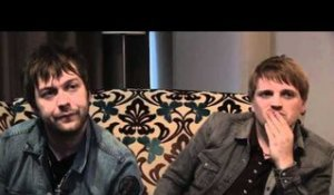 Kasabian interview - Tom Meighan and Chris Edwards (part 4)