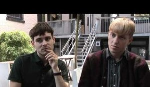 The Drums interview - Jacob Graham and Jonathan Pierce (part 4)