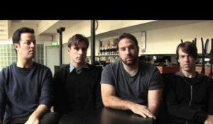Jimmy Eat World interview - Jim, Tom, Rick en Zach (part 2)