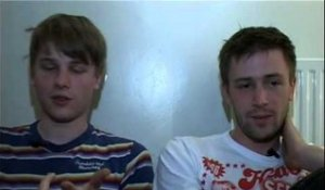 Pete & The Pirates 2008 interview - Thomas and Jonny Sanders (part 4)