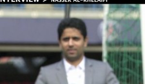 Interview de Nasser Al-Khelaïfi