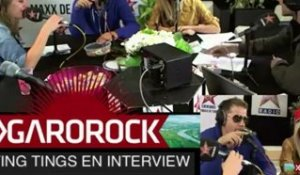 The Ting Tings en interview au festival Garorock