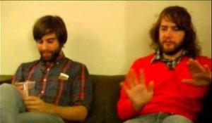 Shout Out Louds 2007 interview - Adam Olenius and Ted Malmros (part 5)