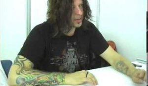 Stone Sour 2006 interview - Jim Root (part 5)